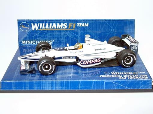 Williams F1 Team: Promotional Showcar FW22 - R. Schumacher (2000) - 1:43 - Minichamps