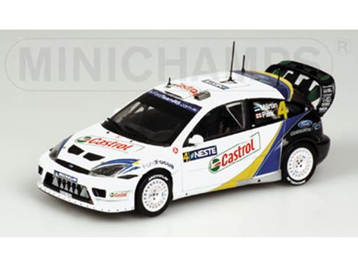 Ford: Focus RS WRC - Rally Finland (2003) - 1:43 - Minichamps