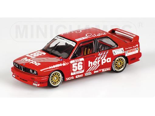 BMW: M3 - G. Muller - Tauber Motorsport - DTM 1988 - 1:43 - Minichamps