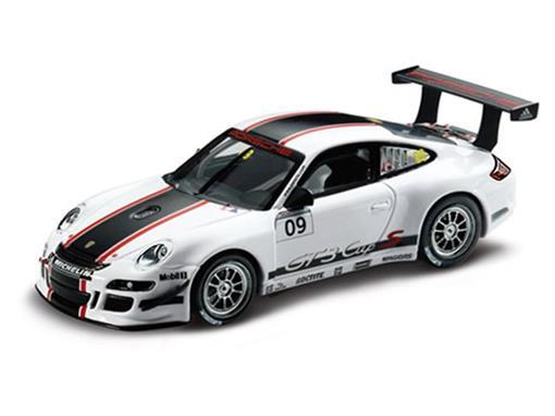 Porsche: 911 GT3 Cup S #09 (2009) - Branco - 1:43 - Minichamps