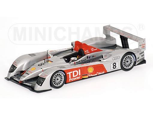 Audi: R10 - Biela / Pirro / Werner - 24h Le Mans (2006) - 1:43 - Minichamps