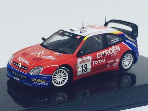 Citroen: Xsara WRC #18 (2003) - 1:43 - Autoart