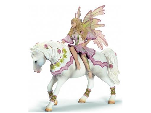 Elfa Feya no Cavalo - Schleich