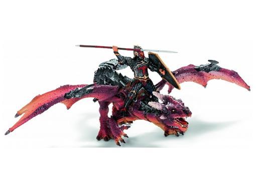 Cavaleiro e Dragão Grande c/ Movimento - Schleich