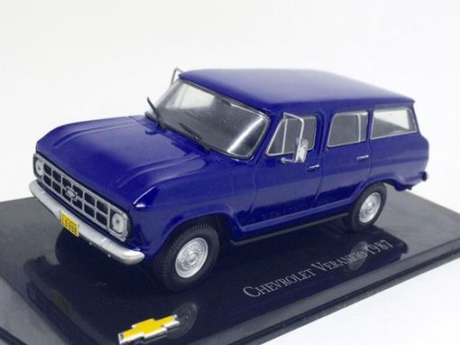 Chevrolet: Veraneio (1987) - Azul - 1:43 - Ixo