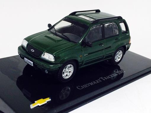 Chevrolet: Tracker (2001) - Verde - 1:43 - Ixo