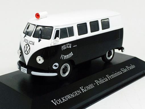 Volkswagen: Kombi - Policia Feminina São Paulo - 1:43 - Ixo