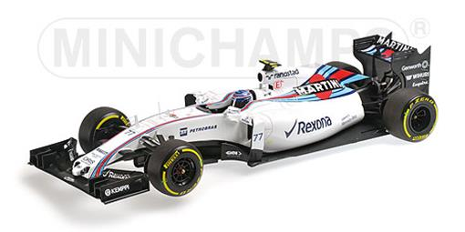 Williams Martini Racing: Mercedes FW37 - #77 V. Bottas (2015) - 1:18 - Minichamps