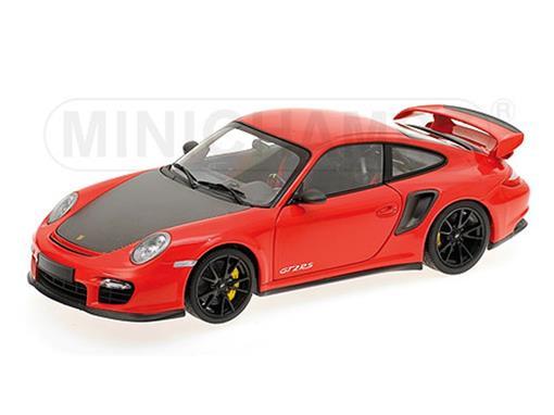 Porsche: 911 (997 II) GT2 RS (2011) - Vermelho - 1:18 - Minichamps