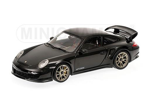 Porsche: 911 (997 II) GT2 RS (2011) - Preto - 1:18 - Minichamps