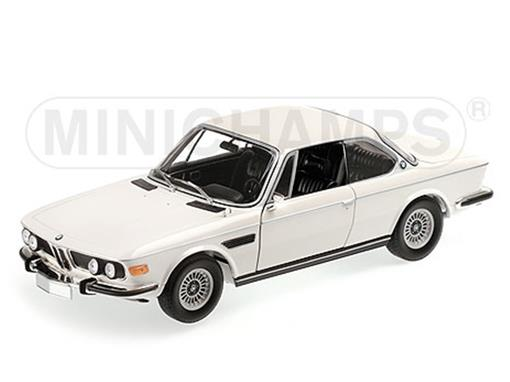 BMW: 3.0 Csi Coupé (1972) - Branco - 1:18 - Minichamps