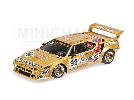 BMW: M1 - Brun Motorsport - #90 24H Le Mans (1983) - 1:18 - Minichamps