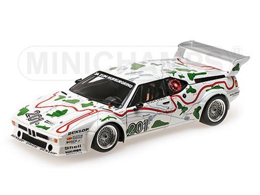 BMW: M1 Procar - BMW Motorsport - #201 1000 KM Nurburgring (1980) 1:18 - Minichamps