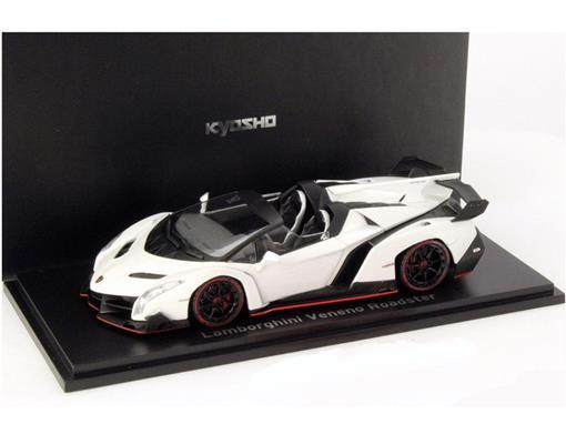 Lamborghini: Veneno Roadster - Branca - 1:43 - Kyosho