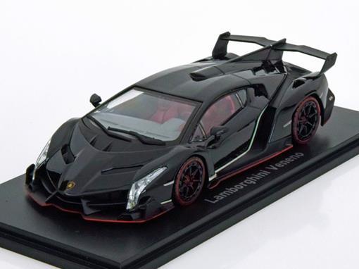 Lamborghini: Veneno - Preta - 1:43 - Kyosho