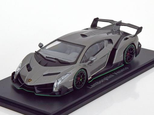 Lamborghini: Veneno - Grafite - 1:43 - Kyosho