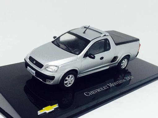 Chevrolet: Montana Pickup (2003) - Prata - 1:43 - Ixo