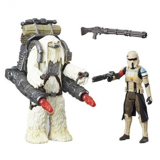 Pack c/ 2 Bonecos - Star Wars Rogue One - Moroff/Scarif Stormtrooper Squad Leader - Hasbro