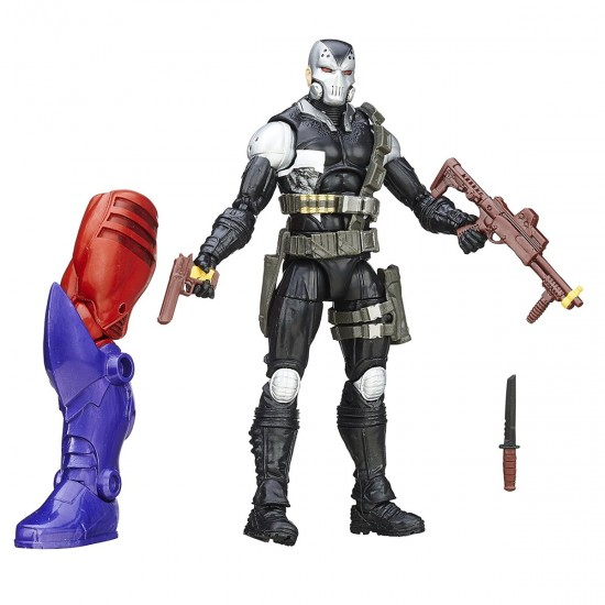 Boneco Mercenaries Of Mayhem Scourge - Captain America - Marvel Legends Series - Hasbro
