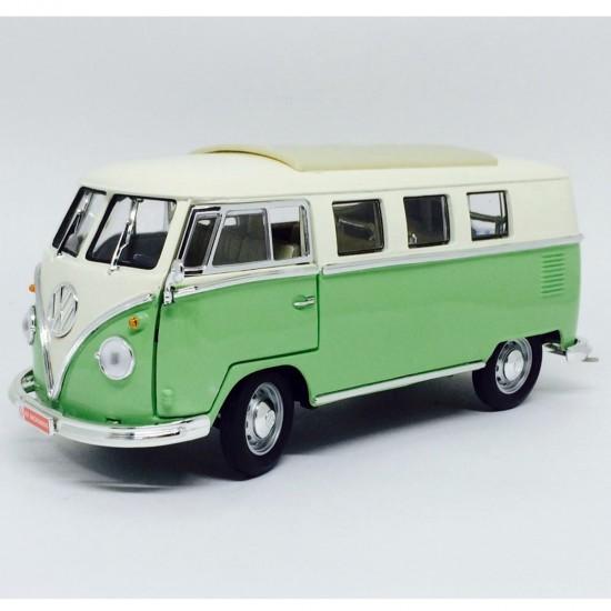 Volkswagen: Kombi (1962) - Verde - 1:18 - Yat Ming