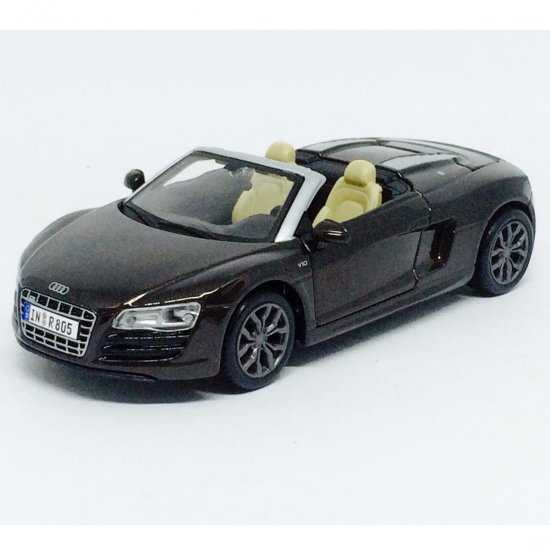 Audi: R8 Spyder - Marrom - 1:24 - Maisto