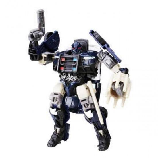 Boneco Transformers Barricade - Transformes: O Último Cavaleiro - Premier Edition - Hasbro