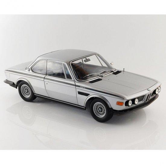 BMW: 3.0 CSL (1972) - Prata - 1:18 - Minichamps