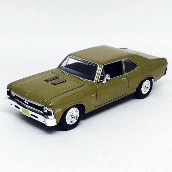 Chevrolet: Nova SS (1970) - Dourado - 1:24 - Maisto