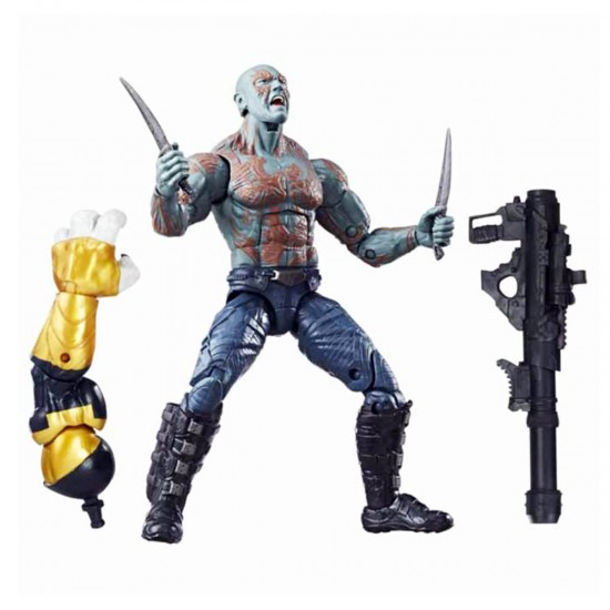Boneco Drax - Guardiões da Galáxia Vol.2 - Marvel Legends Series - Hasbro