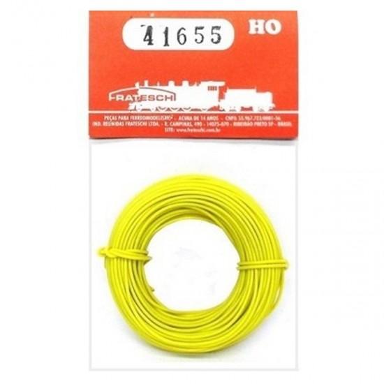 Fio para instalação elétrica flexível - Amarelo - HO - Frateschi