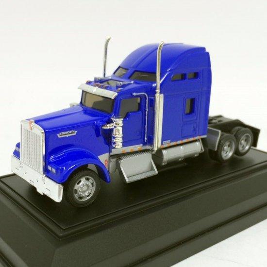 Kenworth: W900 - Cavalo - Azul - HO - 1:87 - Norscot