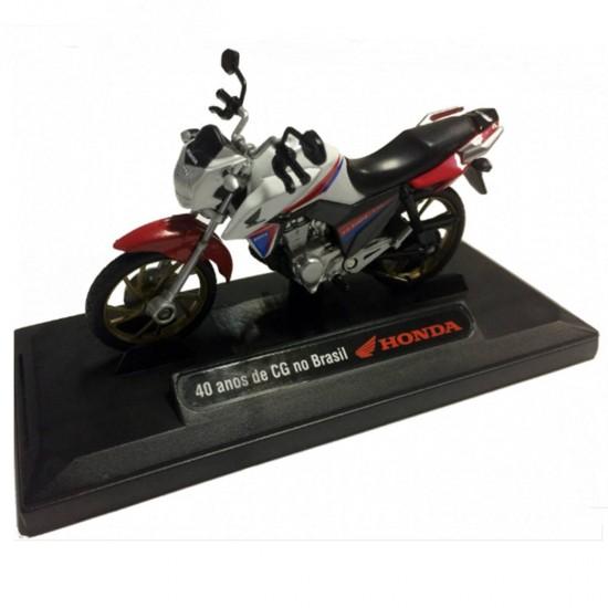 Honda: CG 160 Titan Edição Especial - 1:18 - Motormax