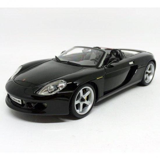 Porsche: Carrera GT - Preto - 1:18 - Maisto
