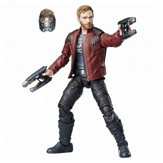 Boneco Star-Lord - Guardiões da Galáxia Vol.2 - Marvel Legends Series - Hasbro