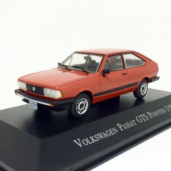 Volkswagen: Passat GTS Pointer (1984) - Vermelho - 1:43 - Ixo