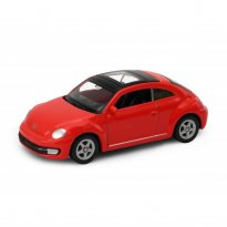 Imagem - Volkswagen: The Beetle / Fusca - Vermelho - 1:60-1:64 - Welly