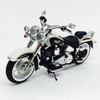 Imagem - Harley Davidson: FLSTN Softail Deluxe (2012) - Preta/Branca - 1:12 - Highway61