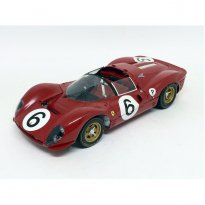 Imagem - Ferrari: 330 P4 #6 - Vermelho - 1:18 - GMP