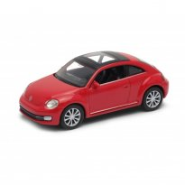 Imagem - Volkswagen: The Beetle / Fusca - Vermelho - 1:34-1:39 - Welly
