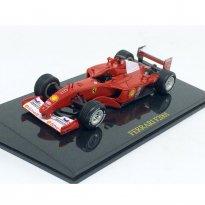 Imagem - Ferrari: F2001 #1 - Vermelha - 1:43 - Ixo