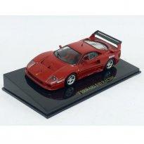 Imagem - Ferrari: F40 Racing - Vermelha - 1:43 - Ixo