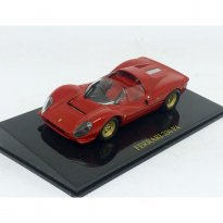 Imagem - Ferrari: 330 P4 - Vermelha - 1:43 - Ixo
