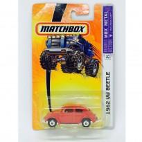 Imagem - Volskwagen: Beetle/ Fusca (1962) - Vermelho - 1:64 - Matchbox