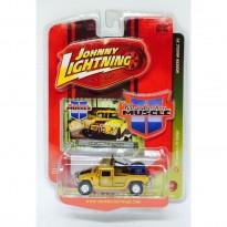 Imagem - Hummer: H1 Rallye (1997) - Amarelo - Modern Muscle R3 - 1:64 - Johnny Lightning