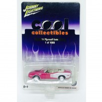Imagem - Plymouth: Cuda (1971) - Rosa - Cool Collectibles - 1:64 - Johnny Lightning