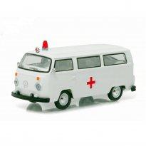 Imagem - Volkswagen: Type 2 / Kombi Ambulância (1975)  - V-Dub - Série 3 - 1:64 - Greenlight