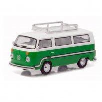Imagem - Volkswagen: Type 2 / Kombi Bus (1977) - Verde - V-Dub - Série 3 - 1:64 - Greenlight