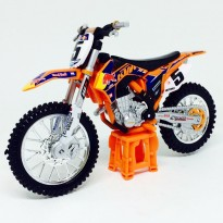 Imagem - KTM: 450 SX-F (2014) Red Bull Factory Racing #5 - 1:18 - Burago
