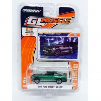Imagem - Ford: Shelby GT-500 (2010) - GL Muscle - Série 16 - 1:64 - (Green Machine) - Greenlight