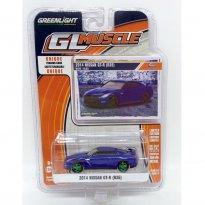 Imagem - Nissan: GT-R (R35) (2014) - GL Muscle - Série 17 - 1:64 - (Green Machine) - Greenlight